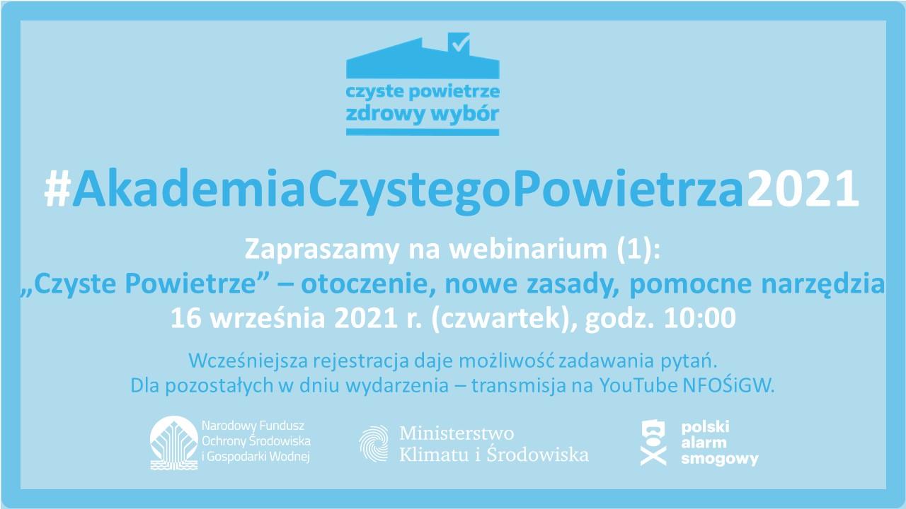 Akademia CzP zaproszenie webinar 1 16 09 2021